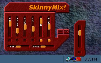 SkinnyMix! Mixer (Screen Capture)